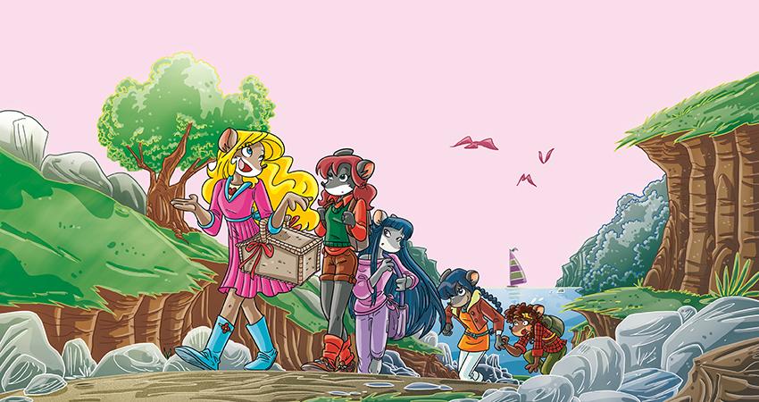 le tea sisters fanno una gita al monte franoso