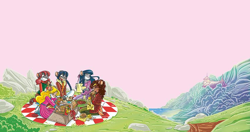 le tea sisters fanno un pic-nic a monte franoso