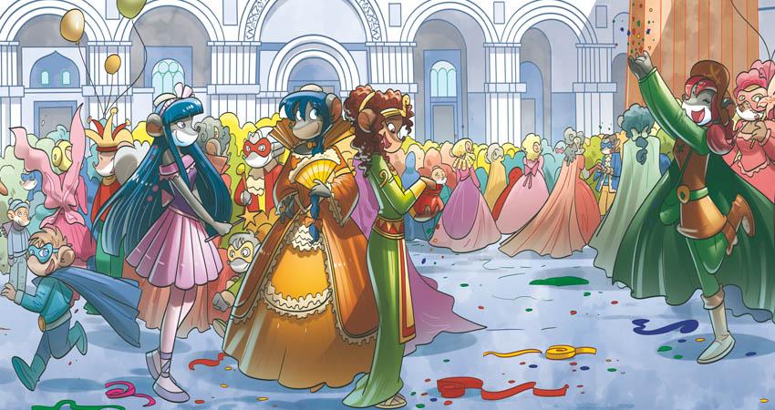 Tea Sisters Carnevale