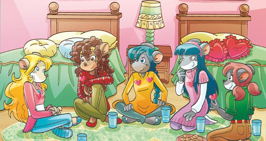 Tea Sisters riunite in camera