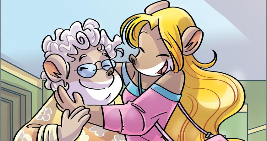 Colette e nonna Mariette