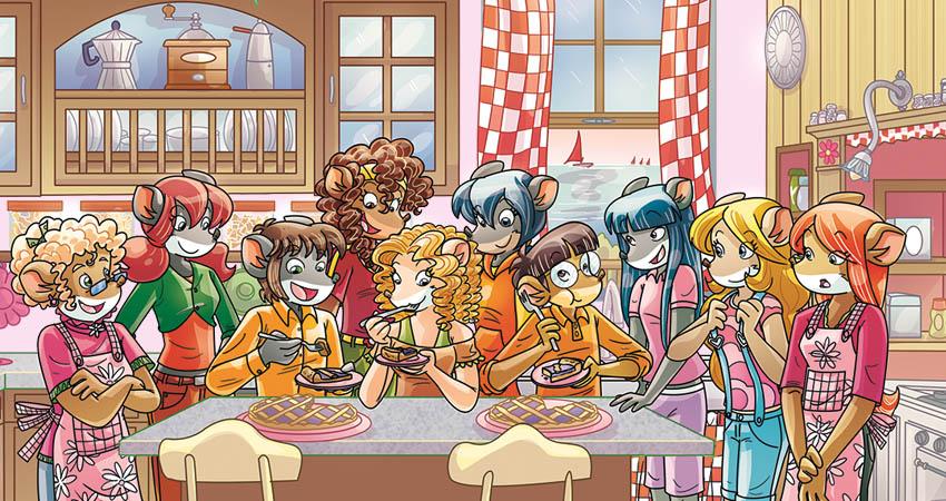 Tea Sisters e amici in pasticceria