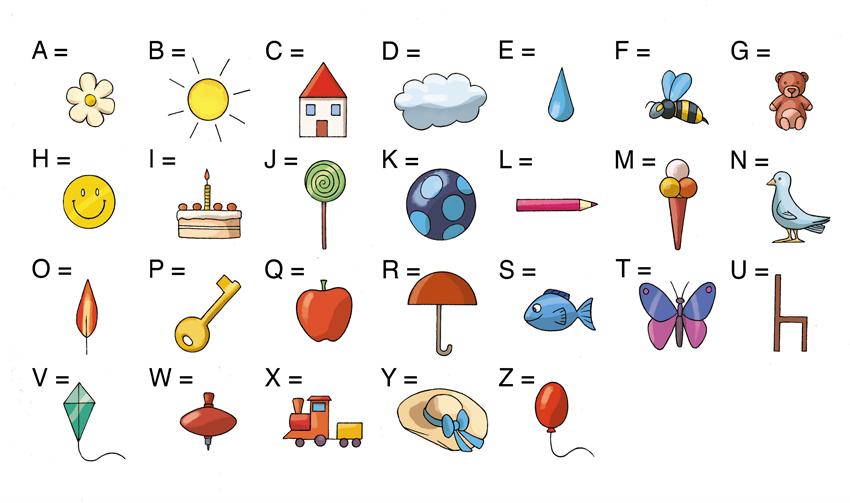 alfabeto segreto