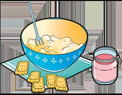 formaggio e zucchero