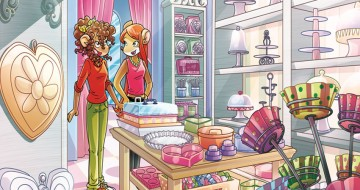 Tamara e Pamela in pasticceria