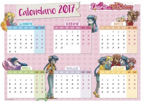 Calendario orizzontale