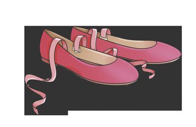 Disegno Di Una Ballerina Classica : Un paio di ballerine speciali il diario delle tea sisters